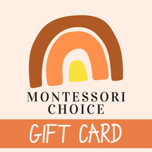 Montessori Choice Gift Card - Handmade Sustainable Eco Toys