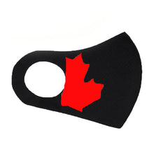 Load image into Gallery viewer, Canada's Day Special Edition Fashion Mask - 5 Pack ( Black)