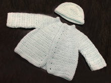 Load image into Gallery viewer, Hand Knitted Ultra Soft Pure Wool Baby Coat and Blanket