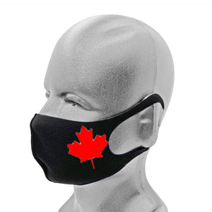Canada's Day Special Edition Fashion Mask - 5 Pack ( Black)