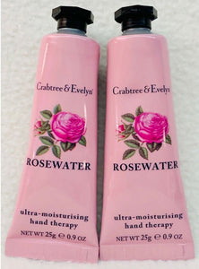 Crabtree-Evelyn Rosewater Ultra-moisturising Hand Therapy