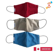 Load image into Gallery viewer, Stay Safe - High Quality Reusable Cotton Face Mask - 3 pcs per pack