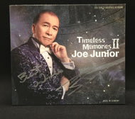 Joe Junior - Timeless Memories II, Autographed Limited Edition CD - 限量珍藏版+親筆簽名