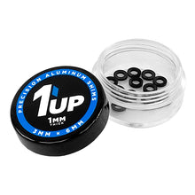 Load image into Gallery viewer, 1up Racing Precision Aluminum Shims – 3x6mm Black