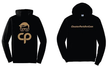 Cheater Parts Hoodie *PRE-ORDER* Black/Purple