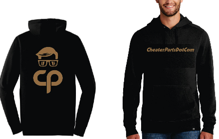 Cheater Parts Signature New Era® Hoodie *PRE-ORDER* Black/Gold