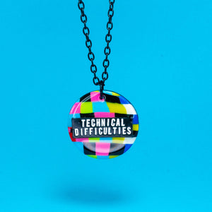 Technical Difficulties necklace