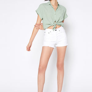 Muse Shorts In White