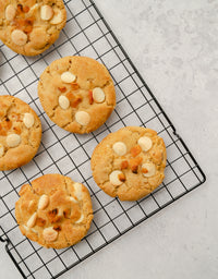 White Chocolate Apricot Cookies