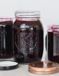 Raspberry and Cacao Jam