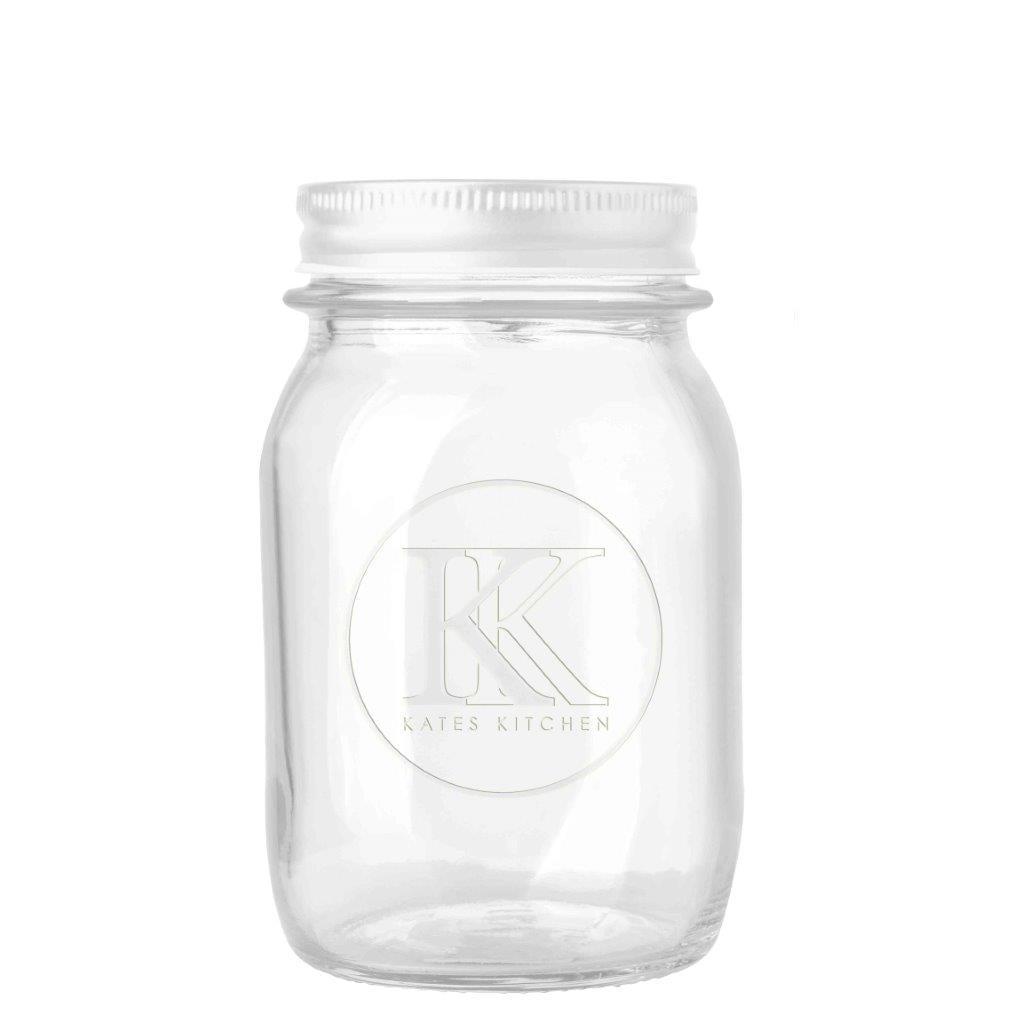 Kates Kitchen Embossed Preserving Jar 500ml