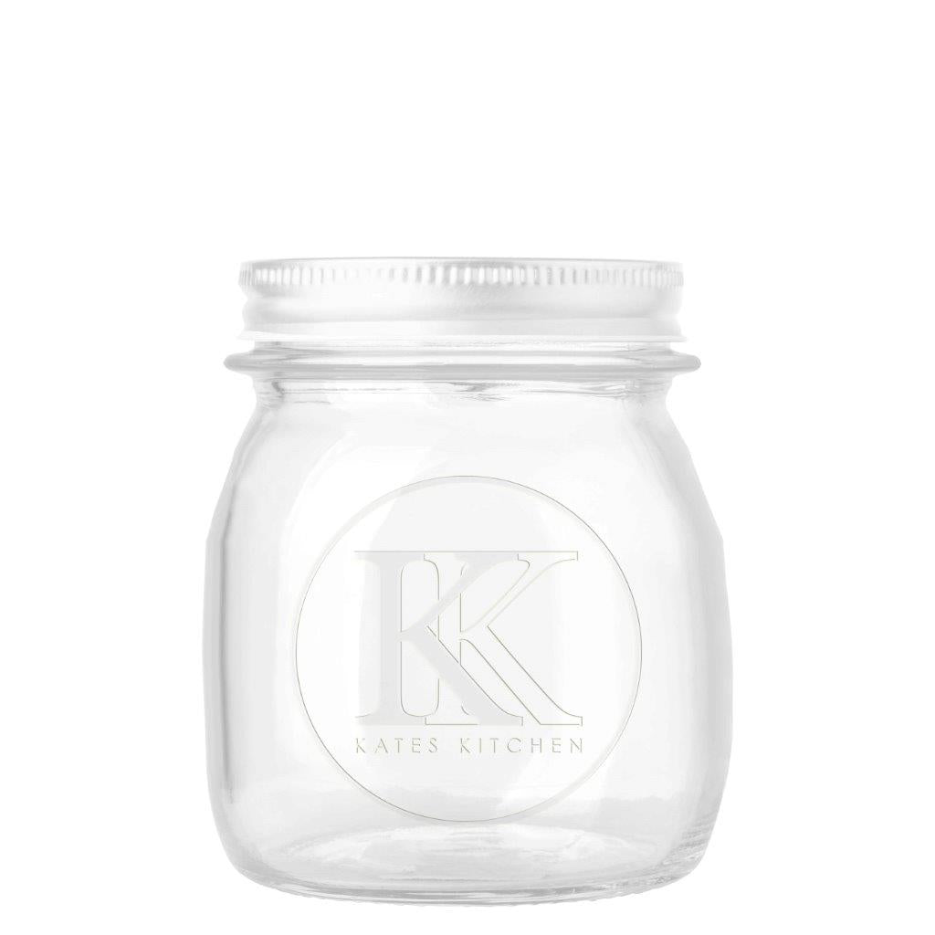 Kates Kitchen Embossed Preserving Jar 250ml