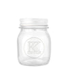 Kates Kitchen Embossed Preserving Jar 150ml