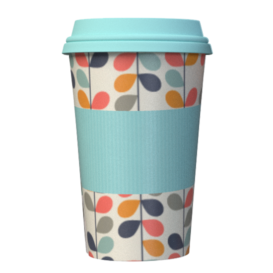 Bamboo Travel Mug enjoy your hot beverage on the go with this stylish reusable coffee mug