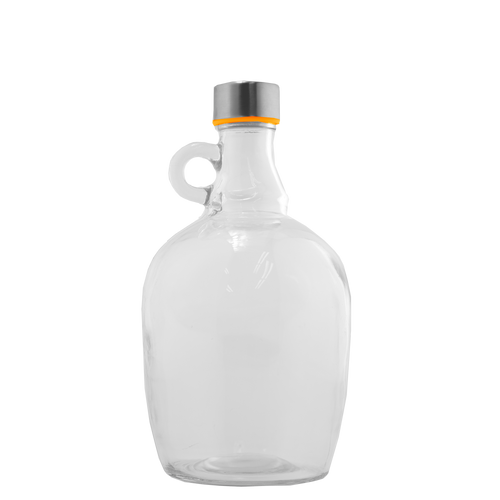 1 litre Glass Flagon ideal for home preserving, brewing or nut milks