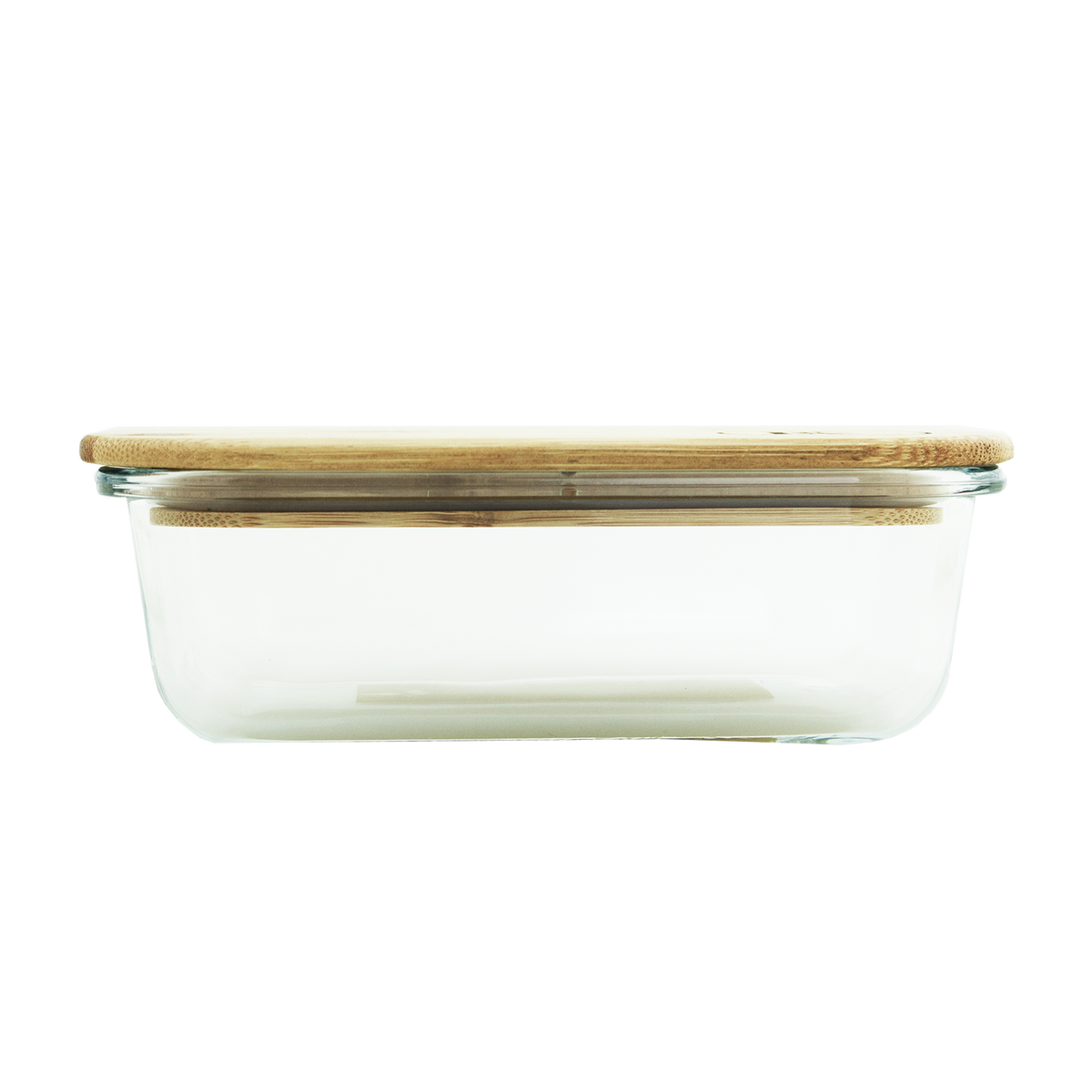 Glass Container with Bamboo Lid 1050ml