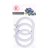 Replacement seals are an essential piece of equipment for any home preserver this set of 3 fits select KK jars