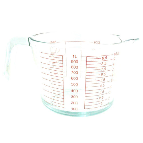Kate's Kitchen measuring jug 1 Litre is perfect for mixing and measuring