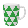 Kates Kitchen gorgeous green triangle mugs are perfect to mix and match to create your own collection.