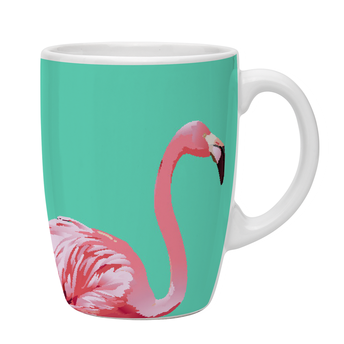 Kates Kitchen Cute Flamingo Mug