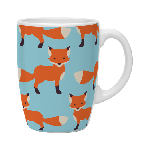 Kates Kitchen Cute Fox Animal Mug