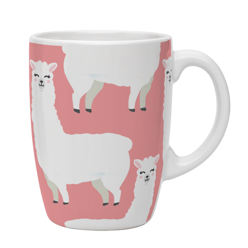 Kates Kitchen Cute Llama Animal Mug