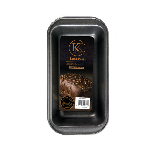 Kates Kitchen loaf pan is perfect for creating both sweet and savoury loaves! Non stick design give reliable baking results and years of excellent performance in the kitchen