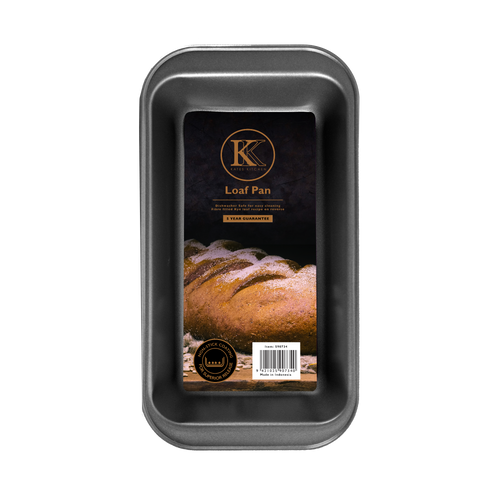 Kates Kitchen Loaf Pan is perfect for creating both sweet and savoury loaves. Dishwasher safe and with non stick coating for easy release you will get years of excellent performance in the kitchen with this loaf pan.