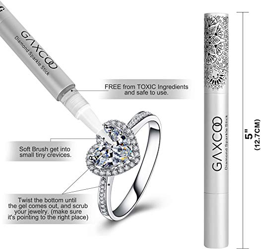 Polishing Cleaning Cloth PRO 10x SPARKLE Jewelry Pen Stick for Gold Silver Platinum Diamond Jewelry