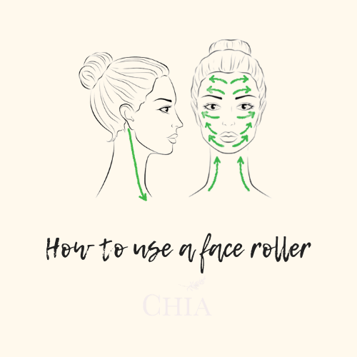 How to use a face roller