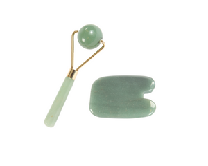 Kit: Ball roller & Squared gua sha tool