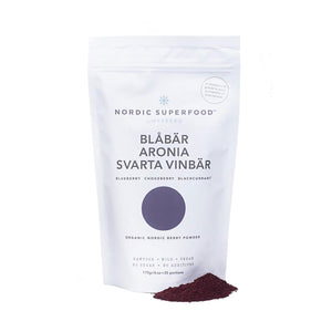 Blue powder - Blueberry Aronia Blackcurrant