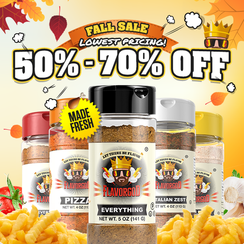Flavor God FG BACON LOVERS SEASONING 156GR