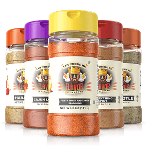 Break out your summertime outdoor grilling spatula and brush and add some grill spice with Flavor God's Cinco De Mayo spice.