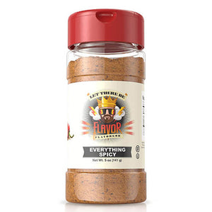 Get some extra flavorful spice with the Spicy Everything Seasoning from FlavorGod & make delicious keto-friendly spicy food.