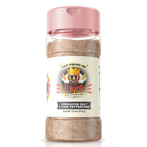 The Flavor God Himalayan Salt & Pink Peppercorn Seasoning brings out the flavor in any keto-friendly healthy grill recipe.