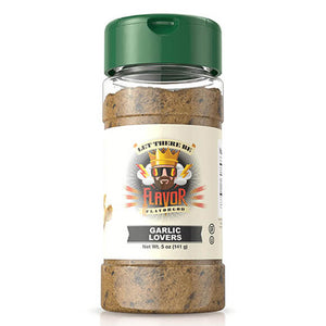 The Flavor God Garlic Lover's Seasoning will fill your meal with flavor. This is a flavorful paleo spice with low salt.