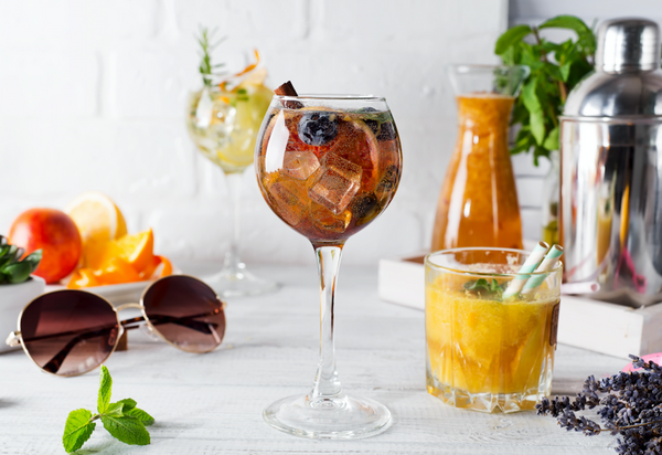 cocktail whisky pomme canneberge
