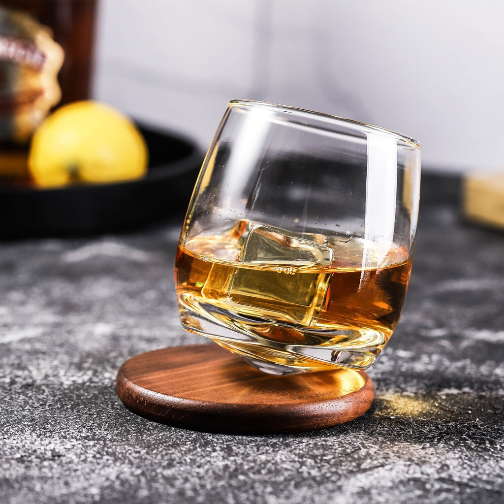 verre a whisky rocking glass