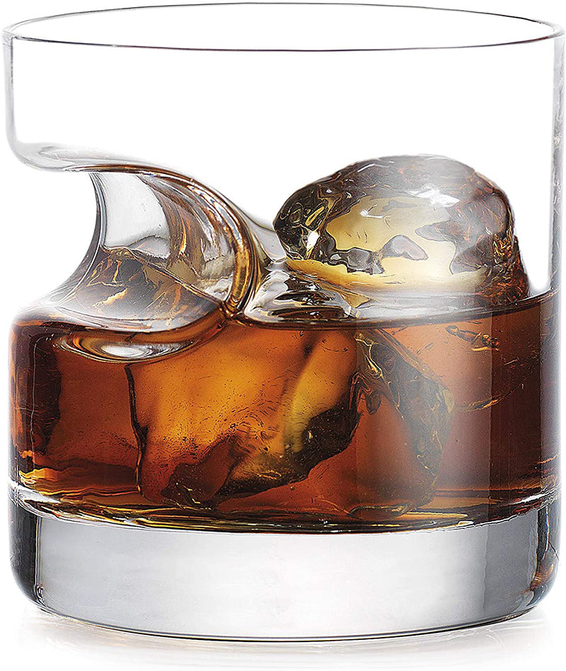 Verres à Whisky Porte Cigare <br> Base Ronde