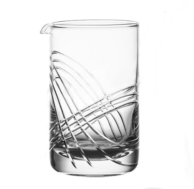 "Verre à Cocktail ""Mixing Glass"" Gravé"