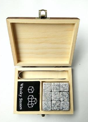 coffret pierre whisky granite gris