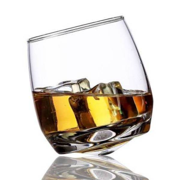 Verre à Whisky Rocking Glass | Cristal Sky