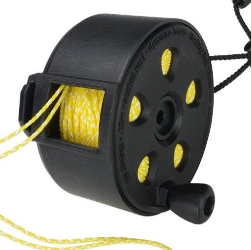 45m Ratcheted Pocket Reel| AP Diving | Silent Diving | Scuba Rebreather
