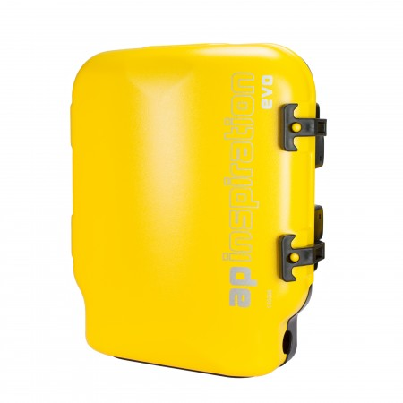 EVOLUTION / INSPIRATION EVO FULL CASE ASSEMBLY WITH YELLOW COVER (2004 ON)| AP Diving | Silent Diving | Scuba Rebreather