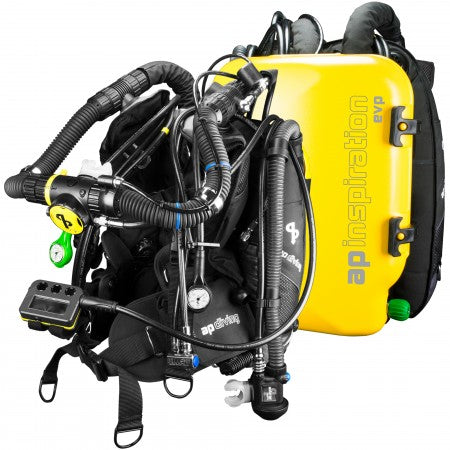 INSPIRATION EVP CLOSED-CIRCUIT REBREATHER| AP Diving | Silent Diving | Scuba Rebreather
