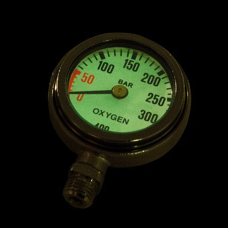 OXYGEN CONTENTS GAUGE AND COVER| AP Diving | Silent Diving | Scuba Rebreather