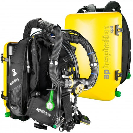 INSPIRATION XPD CLOSED-CIRCUIT REBREATHER| AP Diving | Silent Diving | Scuba Rebreather