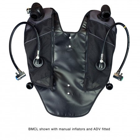 Back Mounted Counterlungs| AP Diving | Silent Diving | Scuba Rebreather