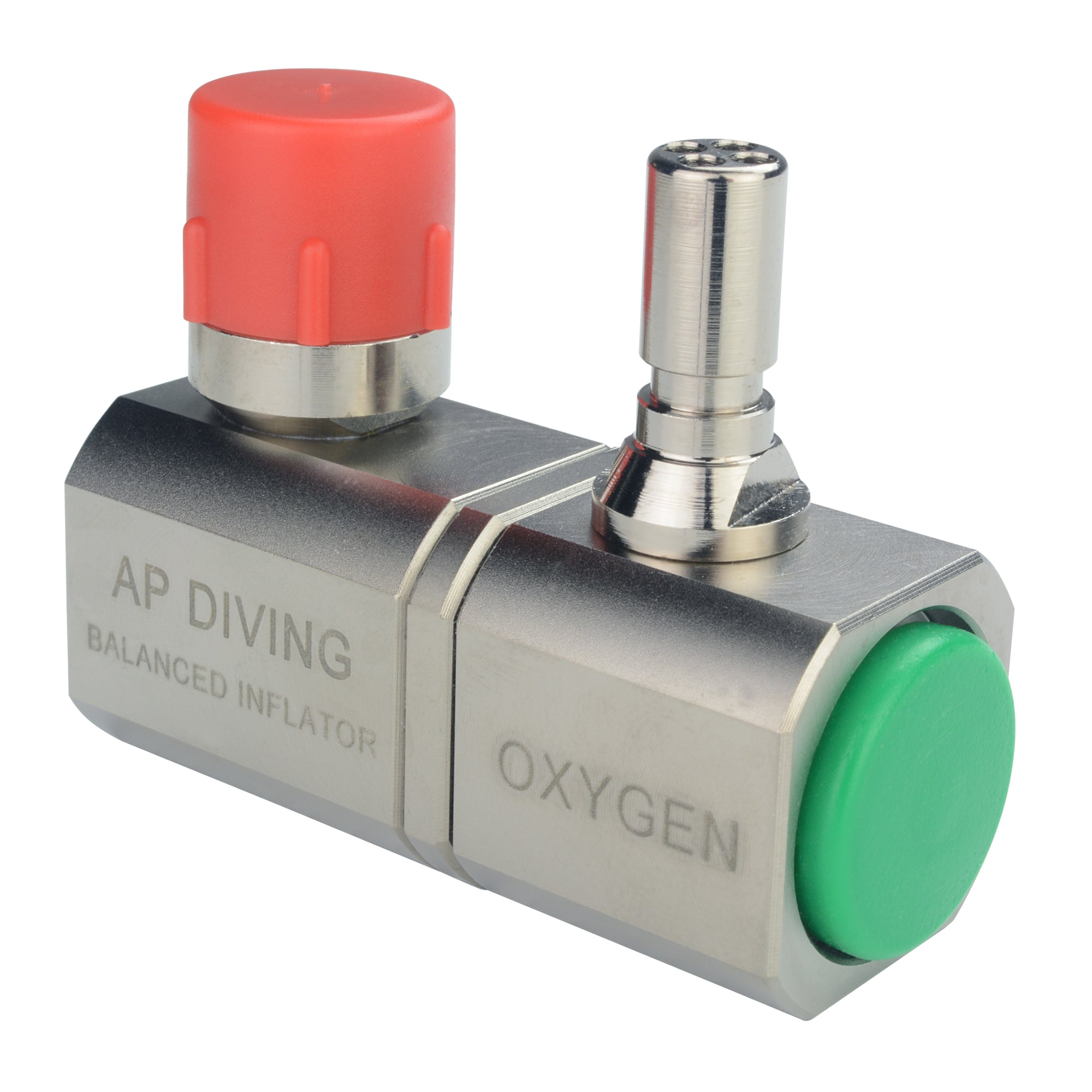 RBV07A/35S - Oxygen Swivel Inflator - Single| AP Diving | Silent Diving | Scuba Rebreather